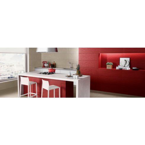 LOVE SPLASH WATERFALL ORANGE/RED RET
