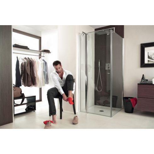 DEANTE CUBIC szögletes zuhanykabin_80x80
