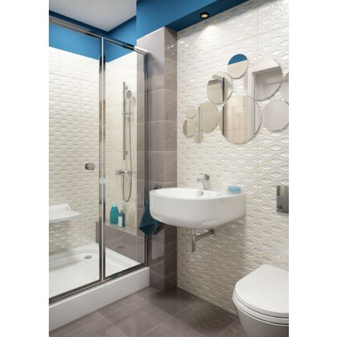 DEANTE CUBIC szögletes zuhanytálca_90