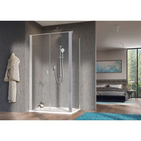 Radaway Nes DWD+S szögletes zuhanykabin / Zuhanyajtó + oldalfal