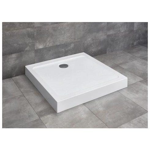 Radaway Doros Stone C szögletes zuhanytálca előlappal