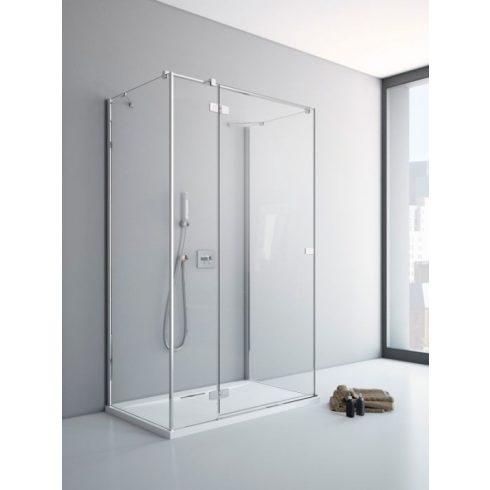Radaway Fuenta New KDJ+S szögletes zuhanykabin / Nyílóajtó + oldalfal