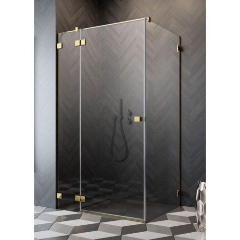 Radaway Essenza Pro Gold KDJ szögletes zuhanykabin