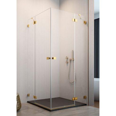 Radaway Essenza Pro Gold KDD szögletes zuhanykabin